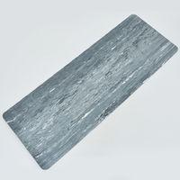 купить Коврик для йоги 183*68*0.4 см 0567 серый (3311) в Кишинёве
