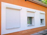 Роллеты на окна в Молдове, электрические (без пульта) с монтажом (ширина 1,6 метра, высота 1,8 метра)