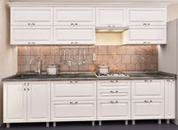 Кухонный гарнитур Bafimob Quadro MDF 3.0m +tandembox White