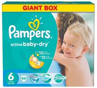 Pampers Active Baby Extra Large 6 (15+ кг.) 66 шт.