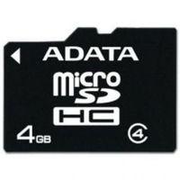 ADATA 4GB, microSDHC Class4