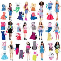 "Barbie DTD96 Набор Barbie ""Модница"" с одеждой  в асс. (12)"