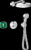 Croma S280 Sistem de duș 1jet Ecostat S