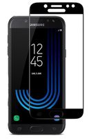 Защитное стекло Cover'X для Samsung J7 2017 (All Glue) Black