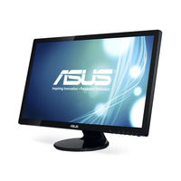 "27"" TFT LED ASUS VE278N Glossy Black"