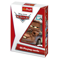 "08604 Trefl ""Playing Cards 55 leaves for children"" Cars / Disney Cars"