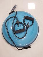 Bosu диск для баланса 57*23 cm Spartan 929 с насосом и ручками-эспандерами (3684) (max 120 kg!)