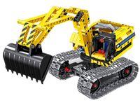 6801, XTech Bricks: 2in1, Construction Excavator & Robot, 342 pcs