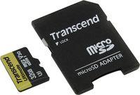 Transcend MicroSDHC 32Gb Class 10 UHS-I + SD Adapter (TS32GUSDU3M)