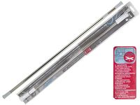Карниз для шторки раздвижной MSV 140-260cm нерж сталь