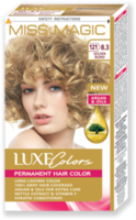 Vopsea p/u păr, SOLVEX Miss Magic Luxe Colors, 108 ml., 121 (8.3) - Blond auriu