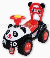 Baby Mix UR-7601 Машинка Панда черная