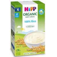 Terci organic Hipp din orez fără lapte (4+ luni), 200 gr.