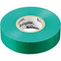 """Изолента зелёная """"Navigator"""" серии NIT"""