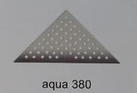 Трап для душа AQUA 380,хром,35см, Evimetal