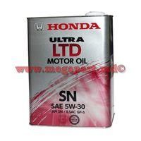купить Масло моторное Honda 5W30 4L SN/GF-5 Ultra LTD (5W-30) в Кишинёве