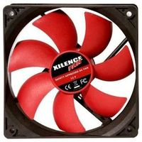 120mm Case Fan - XILENCE XPF120.R.PWM Fan, 120x120x25mm, 1500rpm, <21dBa, 57.9CFM, hydro bearing, 4Pin with PWM,  Black/Red