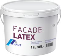 Краска водоэмульсионная фасадная Haus Latex 4 кг