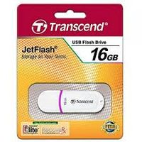 Flash Drive Transcend JetFlash 330 White 16Gb