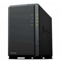 "Synology DiskStation DS218play, 3.5"" or 2.5"" SATA3/SSD CPU 1.4GHz Ram 1GB USB3.0"