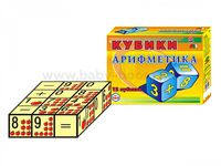 "Technok Tois 0243 Кубики  ""Арифметика ТехноК"""