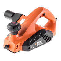 Электрорубанок Black&decker KW712KA (00774)