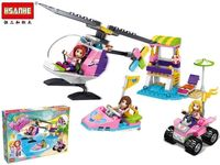 Constructor HSANHE fashion family-helicopter 34X24.5X6cm, 210 det.