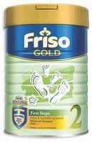 Friso Gold 2 молочная смесь, 6-12 мес. 400г