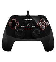 Gamepad SVEN GC-250, 4 axe, D-Pad, 2 mini joystick-uri, 11 butoane, USB