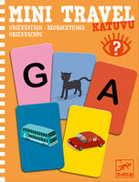 Katuvu - Observation Mini Travel Game by Djeco