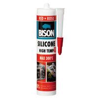 купить Bison силикон красный термостойкий 280 мл в Кишинёве