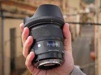 Prime Lens Sigma AF  24mm f/1.4 DG HSM ART F/Canon