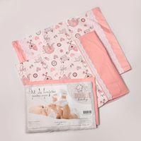 """Dormi Baby постельное бельe""""Baby"""" розовый  3 ед"""
