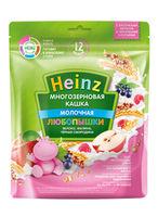 Каша Heinz молочная многозлаковая яблоко-малина-черная смородина 200г с 12месяцев