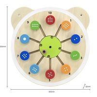 Viga Wall Toy Matching Numbers