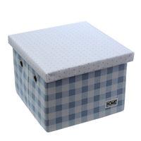 купить Коробка с крышкой 280x280x200 мм, голубой в Кишинёве