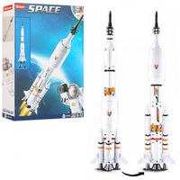 Sluban Space Constructor Saturn Rocket