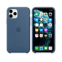 Apple Original Silicone Case Iphone 11 Pro  , Alaskan Blue