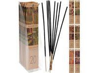 Набор ароматизированных палочек 20шт, 25 cm