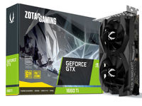 Видеокарта Zotac GeForce GTX 1660 Ti (6 ГБ/GDDR6/192 бит)