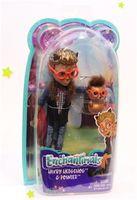 Кукла Enchantimals с питомцем - Хиксби Ёжик, 15 см, код FJJ22