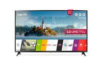 TV LED LG 49UJ630V, Black
