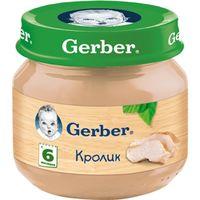 Gerber пюре из кролик, 6+ мес, 80 гр