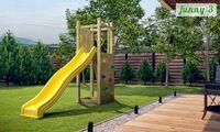 Деревянная детская площадка FUNNY 3