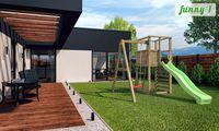 Деревянная детская площадка FUNNY 1