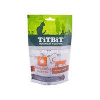 TiTBiT Хрустящие подушечки с говядиной 60 gr