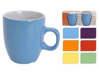Чашки керамические 2шт, 150ml, разных цветов