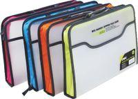 DELI Папка-портфель пластиковая DELI Transparent
