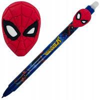 Stilou cu bilă Colorino scriu-șterge albastru 0,5 Marvel