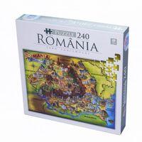 Супер пазл 240 ед. ROMANIA 74225